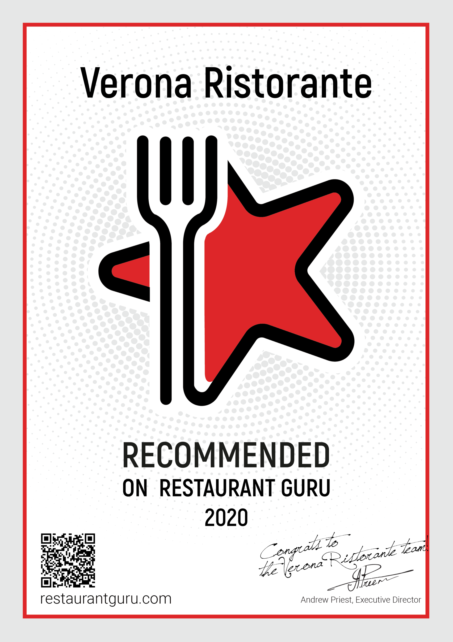 Verona Farmingdale recommended by Restaurant Guru Rating and Reviews