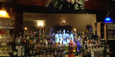 Photo of Fully Stocked Bar at Excellent Restaurant for Italian Dining in Farmingdale Long Island NY
